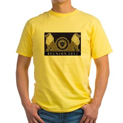 Grahm Junior College Reunion Store Yellow T-Shirt