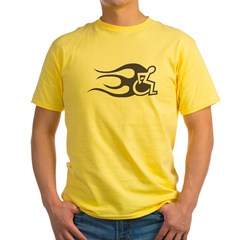 Chair Flame 2 Yellow T-Shirt