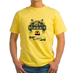 Lockhart Family Cres Yellow T-Shirt