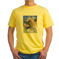 Keeshond Yellow T-Shirt