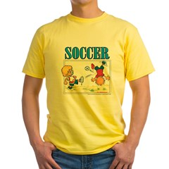 Soccer! Yellow T-Shirt