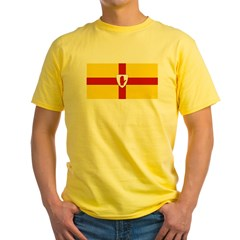 Ulster Flag Yellow T-Shirt