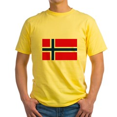 norway222 Yellow T-Shirt
