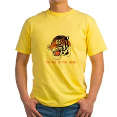 Eye of the tiger Yellow T-Shirt
