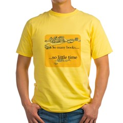 Black_SOMANYBOOKS Yellow T-Shirt