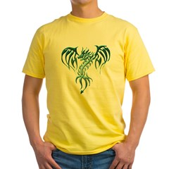 GSB-celticdragon1TS-2 Yellow T-Shirt