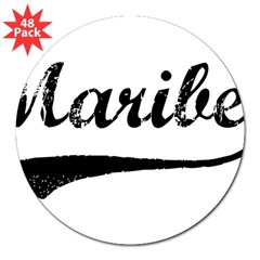 "Vintage: Maribel 3"" Lapel Sticker (48 pk)"