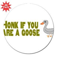 "Honk Goose 3"" Lapel Sticker (48 pk)"