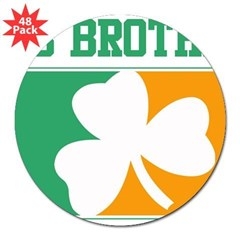 "BIG BROTHER (Irish) 3"" Lapel Sticker (48 pk)"