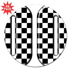 "Race Car #00 Rectangle 3"" Lapel Sticker (48 pk)"