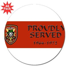 "MACV-SOG 3"" Lapel Sticker (48 pk)"