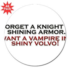 "Shiny Volvo 3"" Lapel Sticker (48 pk)"