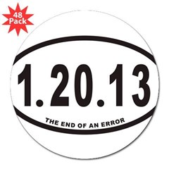 "1.20.13 Euro Oval 3"" Lapel Sticker (48 pk)"