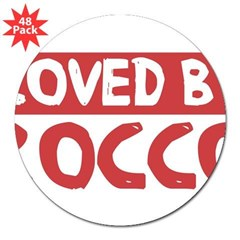 "Loved by Rocco 3"" Lapel Sticker (48 pk)"