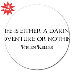 "Helen Keller 3"" Lapel Sticker (48 pk)"