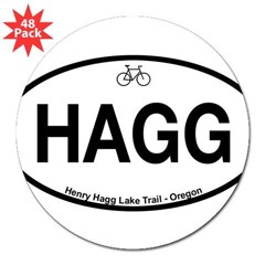 "Henry Hagg Lake Trail 3"" Lapel Sticker (48 pk)"