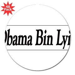 "Obama Bin Lyin 3"" Lapel Sticker (48 pk)"