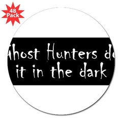 "Ghost Hunters Do It 3"" Lapel Sticker (48 pk)"