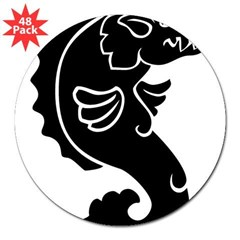 "Pigfish 3"" Lapel Sticker (48 pk)"
