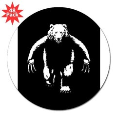 "Bearman! 3"" Lapel Sticker (48 pk)"