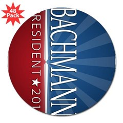 "Bachmann - Ray of Hope Design 3"" Lapel Sticker (48 pk)"