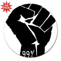 "99 % Fi 3"" Lapel Sticker (48 pk)"