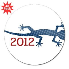 "Newt 2012 Drawing 3"" Lapel Sticker (48 pk)"