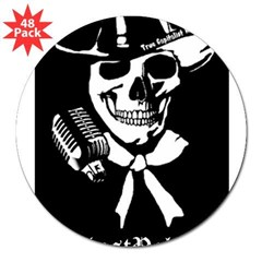 "@GhostPolitics 3"" Lapel Sticker (48 pk)"
