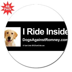 "Bumper Sticker (Lab) 3"" Lapel Sticker (48 pk)"