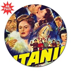 "$9.99 Titanic Movie 3"" Lapel Sticker (48 pk)"