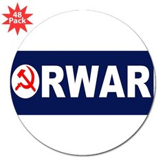 "AmerikaForward 3"" Lapel Sticker (48 pk)"
