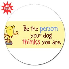 "Be The Person 3"" Lapel Sticker (48 pk)"