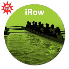"iRow Rectangle 3"" Lapel Sticker (48 pk)"