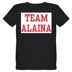 TEAM ALAINA Organic Kids T-Shirt (dark)