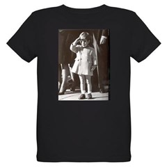 JFK Jr. Organic Kids T-Shirt (dark)