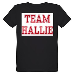 TEAM HALLIE Organic Kids T-Shirt (dark)
