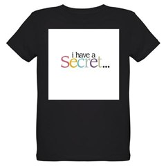 I HAVE A SECRET Big Sister - Organic Kids T-Shirt (dark)