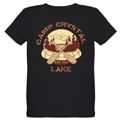 Camp Crystal Lake Organic Kids T-Shirt (dark)