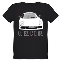 ...Classic Cars... Organic Kids T-Shirt (dark)