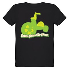 Rollin Down the Street Organic Kids T-Shirt (dark)