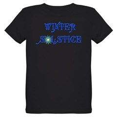 Winter Solstice Organic Kids T-Shirt (dark)