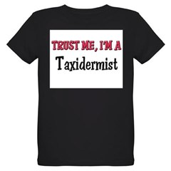 Trust Me I'm a Taxidermist Organic Kids T-Shirt (dark)