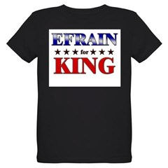 EFRAIN for king Organic Kids T-Shirt (dark)