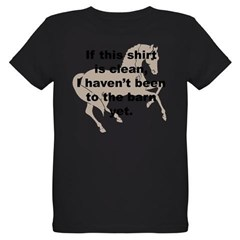 Dirty Barn Shirt w/ Horse Organic Kids T-Shirt (dark)