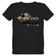 Grand Master in Training Organic Kids T-Shirt (dark)