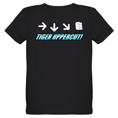 Tiger Uppercut Organic Kids T-Shirt (dark)
