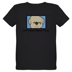 Anime Soft Coated Wheaten Terrier Baby Bodysuit Organic Kids T-Shirt (dark)