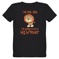 big brother t-shirts lion Organic Kids T-Shirt (dark)