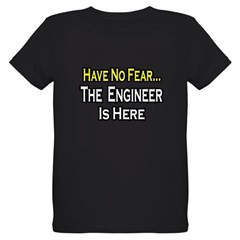 """Have No Fear, Engineer..."" Organic Kids T-Shirt (dark)"
