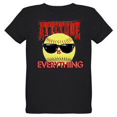 Attitude is Everything Organic Kids T-Shirt (dark)